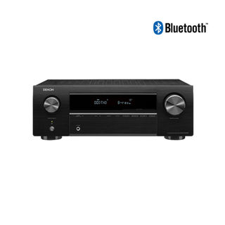 DENON AV RECEIVER AVR-X 250BT BLACK