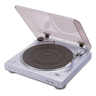 DENON TURN TABLE DP-29F SILVER