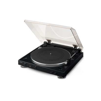 DENON TURN TABLE PLAYER DP-200USB BLACK