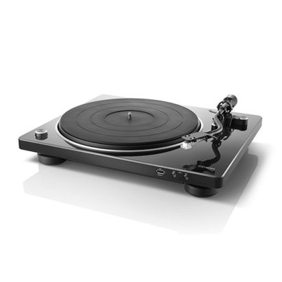 DENON TURN TABLE PLAYER DP-450USB BLACK